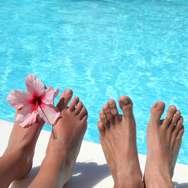 week end pieds dans l'eau