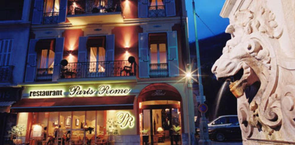 H Tel Paris Rome Charmehotel Menton