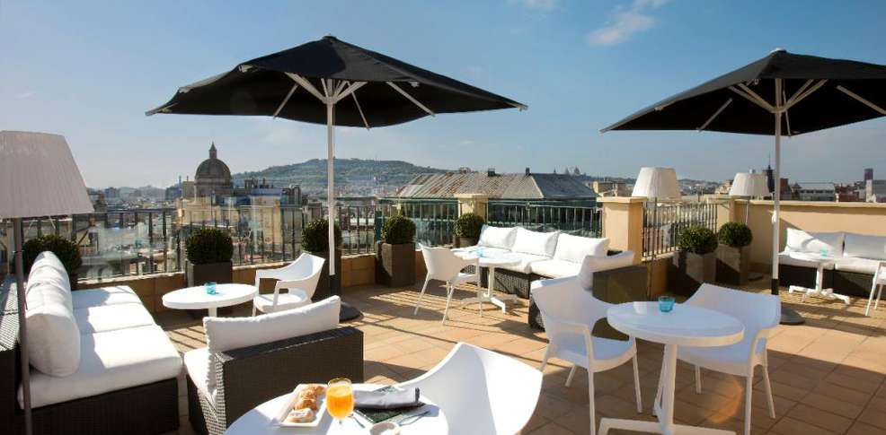 H tel h10 universitat h tel de charme barcelone - Hotel de charme barcelone ...