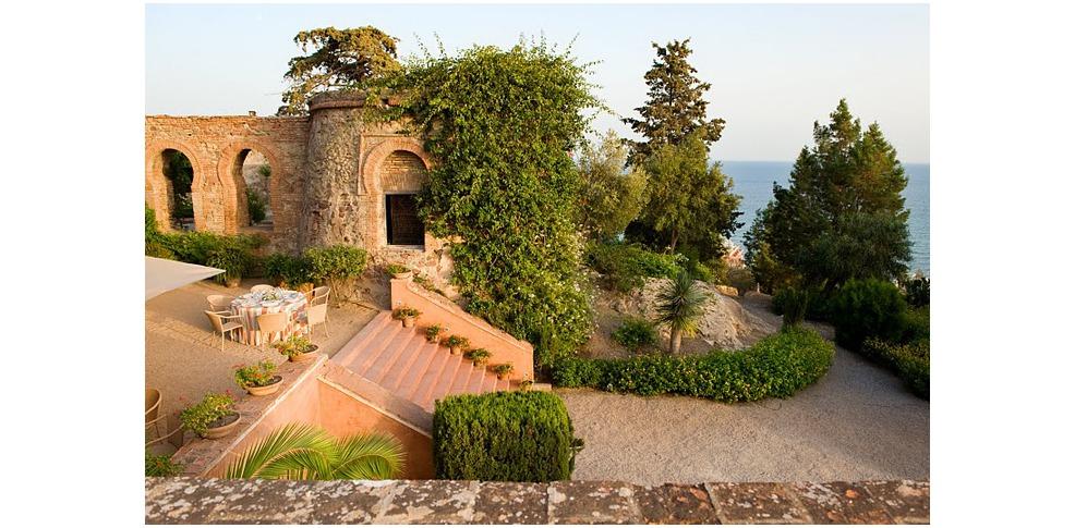 Hotel castillo de santa catalina h tel de charme arroyo - Jardin suspendu brussels montpellier ...