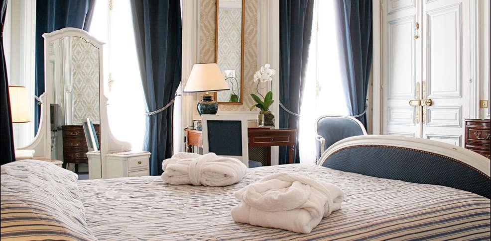 Normandy h tel paris charmehotel parijs for Chambre hotel normandie