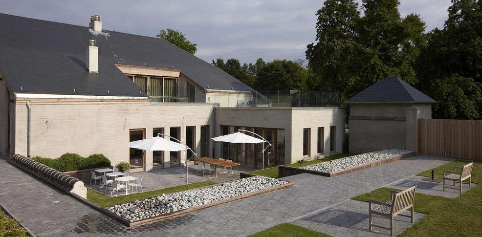 H tel b b baron 39 s house neerijse leuven h tel de charme neerijse - Jardin suspendu brussels montpellier ...