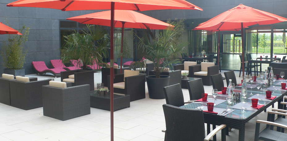 Clarion Suites Sénart Paris sud - Patio