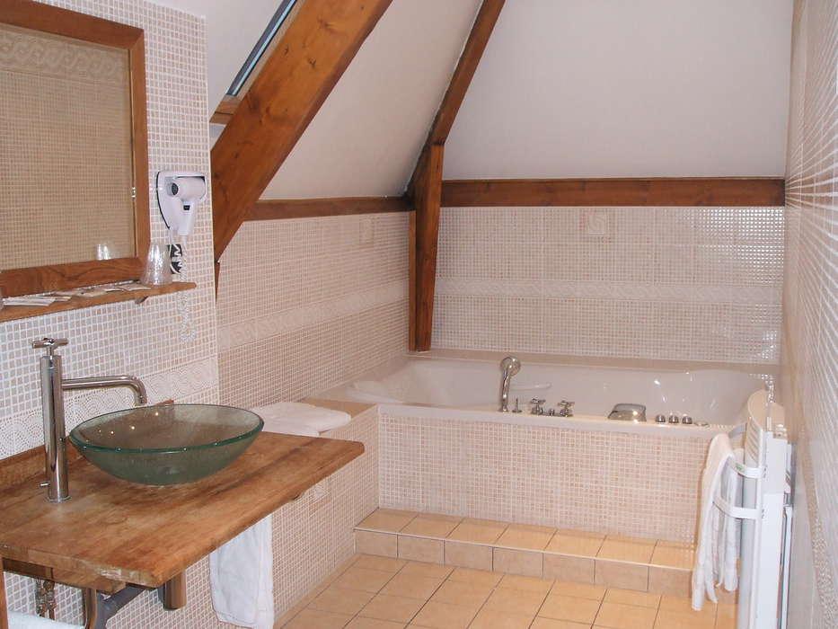 Hôtel Ile de France - Salle de bain supérieure