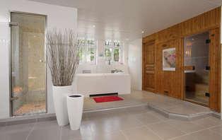 Romantisch wellness weekend in een suite met zee zicht met een glamour verzorging in Deauville