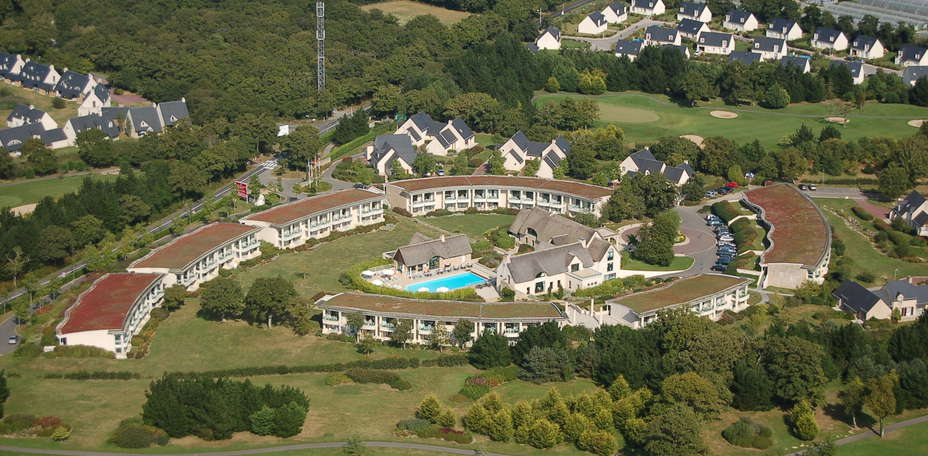 Suite & Green  Golf de la Baule - Vue a&eacute;rienne