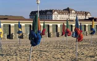 Week-end détente en chambre deluxe vue mer à Deauville