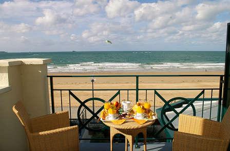 """Farniente, plage et dîner à Saint-Malo, """" la Cité Corsaire """" (2 nuits min)"""