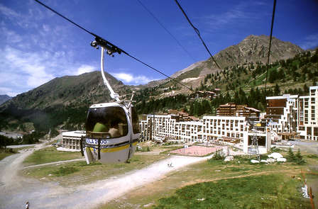 Farniente à la montagne à Isola 2000