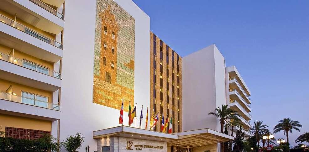 hotel torre del mar inactif h tel de charme isla de ibiza. Black Bedroom Furniture Sets. Home Design Ideas