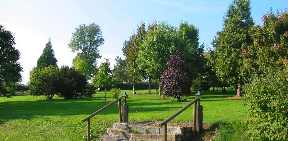 Chteau de la Valle Bleue  - Jardins, parc