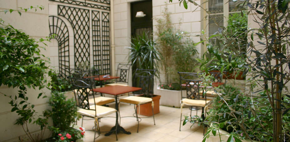 Hôtel Glasgow Monceau - Patio