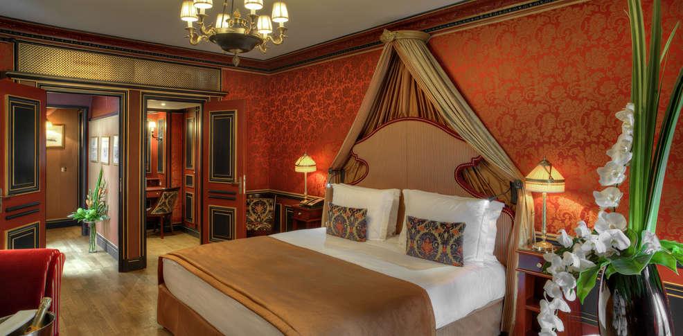 Grand h tel de bordeaux spa charmehotel bordeaux - Chambre thema parijs ...
