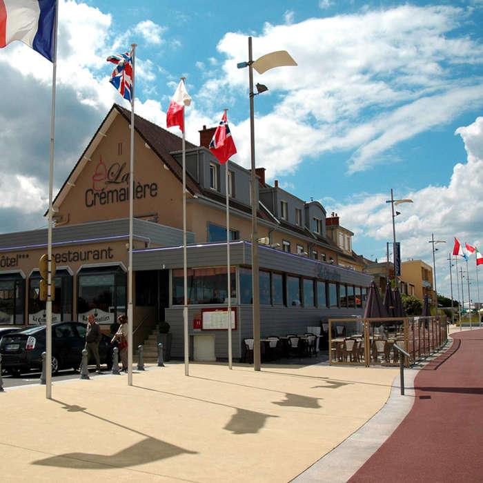 Weekend aan zee courseulles sur mer met 1 huur van fiets - La cremaillere cote mer et hotel cote jardin ...