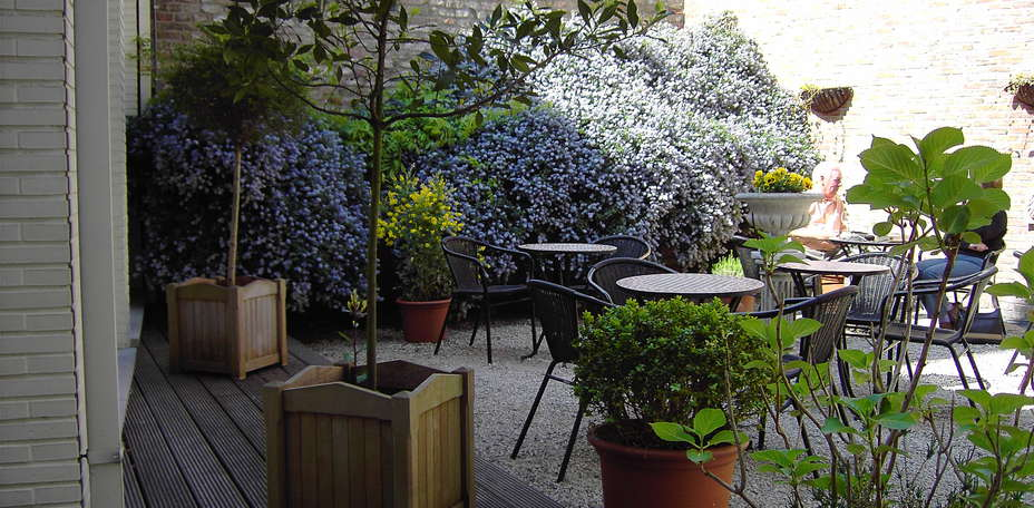 Hotel Hans Memling - Patio