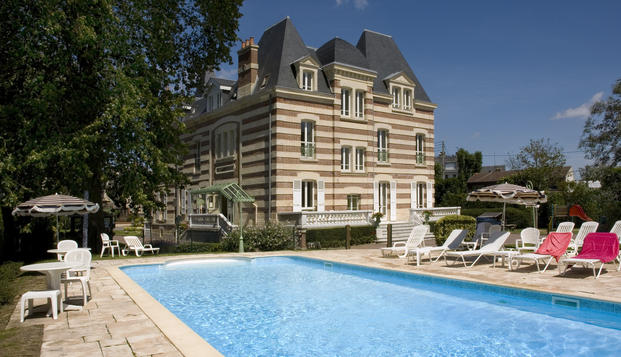 Week end de charme cabourg for Hotel piscine cabourg