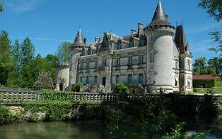 Week-end avec visite d'un château près de Poitiers
