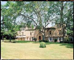 Week-end dans un château près d'Avignon