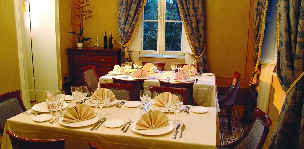 H tel castello di montegiove fano h tel de charme fano for Cucina g v hotel