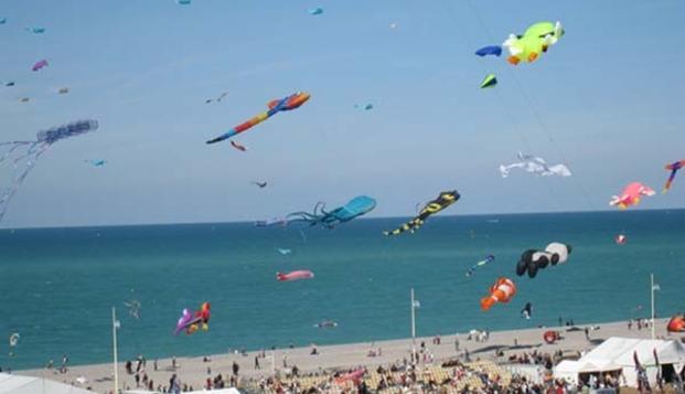 Week-end � Dieppe face � la mer