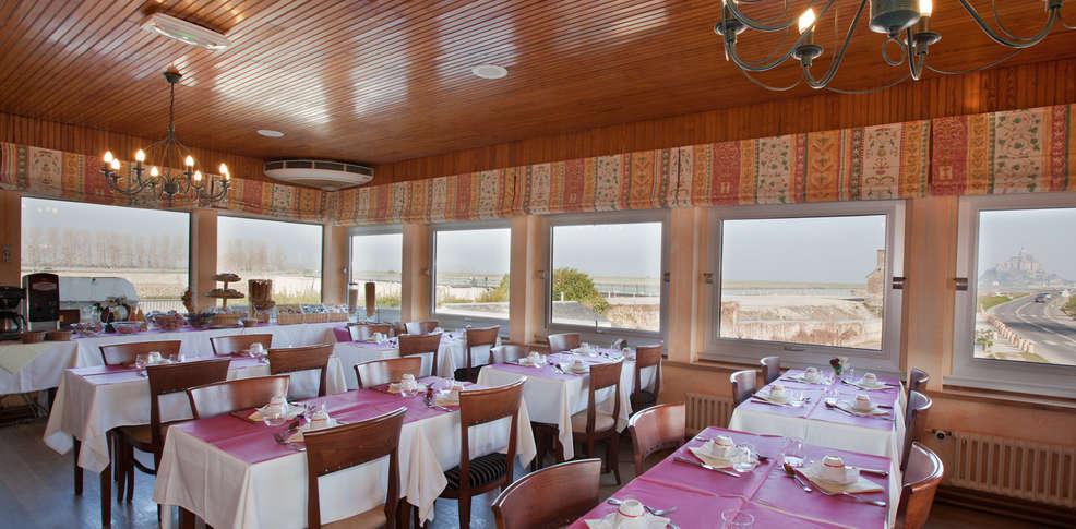 Hotel Restaurant La Digue Mont St Michel