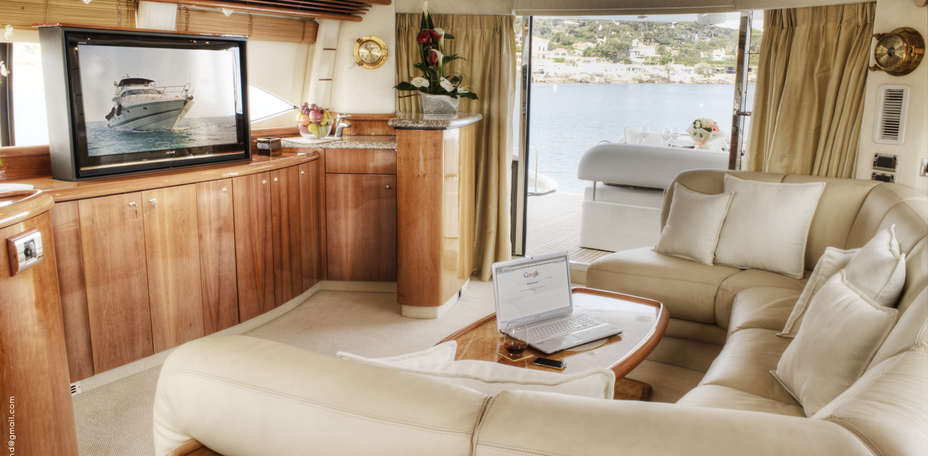 Lady Esther Yacht - Salon