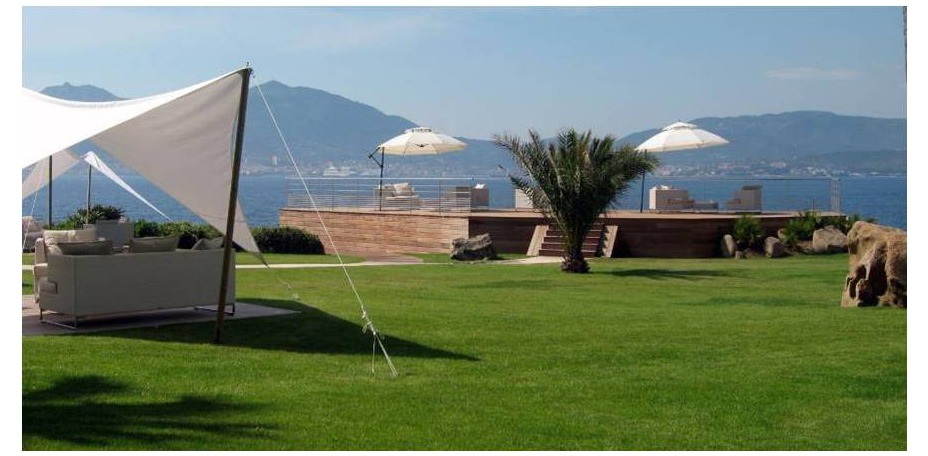 Sofitel Golfe d'Ajaccio Thalassa Sea & Spa  - Jardins, parc