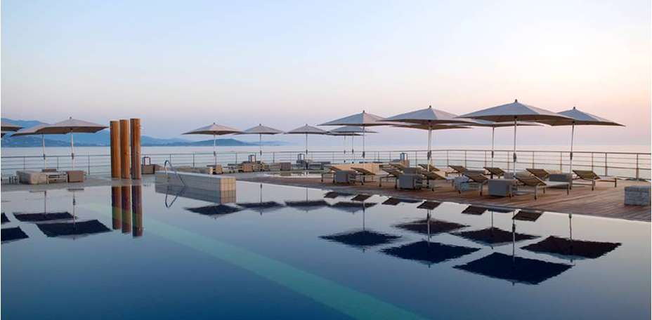 Sofitel Golfe d'Ajaccio Thalassa Sea & Spa  - Piscine extrieure