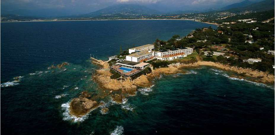 Sofitel Golfe d'Ajaccio Thalassa Sea & Spa  - Vue a&eacute;rienne