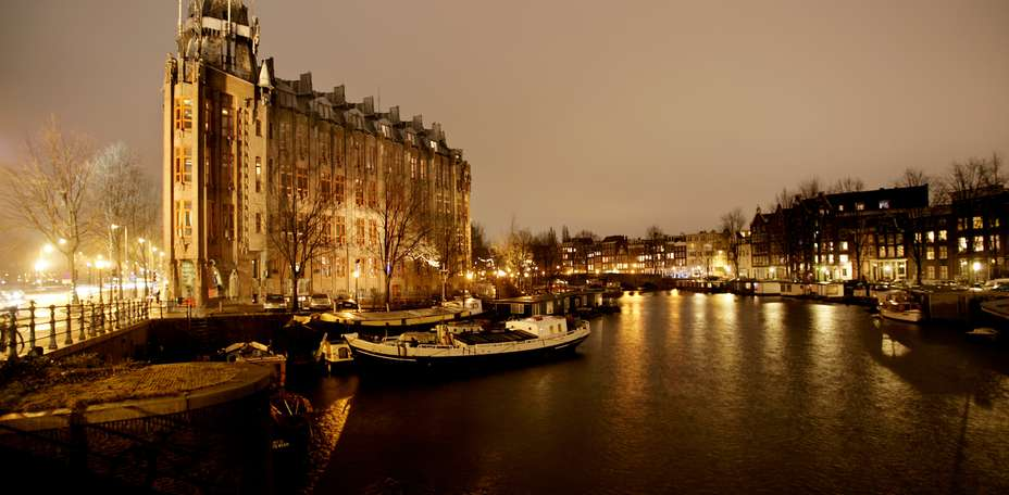 Grand Hotel Amrth Amsterdam - Vue de l'htel