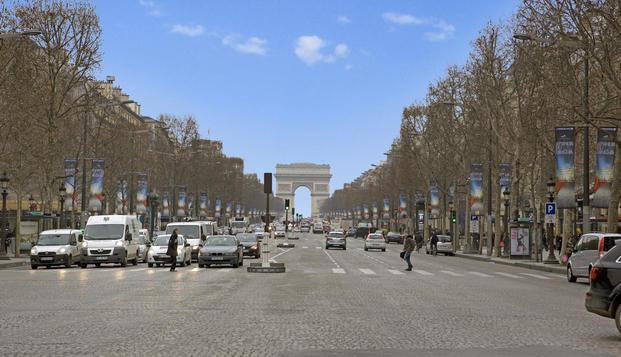 Week-end de charme � deux pas des Champs-Elys�es