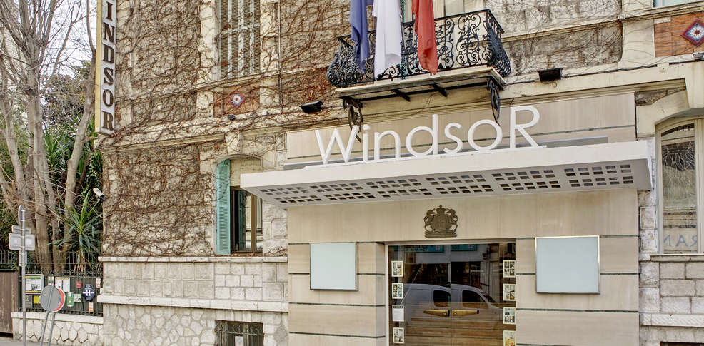 H tel windsor h tel de charme nice 06 for Reservation hotel paca