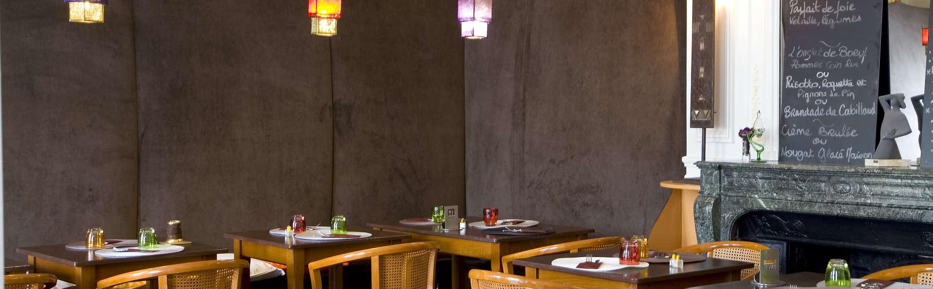 Hôtel Restaurant La Gourmandine - Salle de petit déjeuner