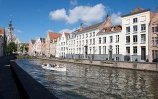 Week-end de charme dans une chambre avec vue sur le canal (à partir de 2 nuits)