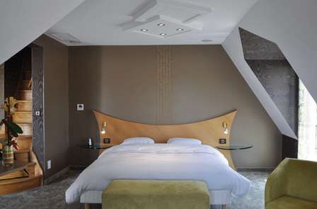 Relaxweekend in een superior suite in het Normandische coulisselandschap
