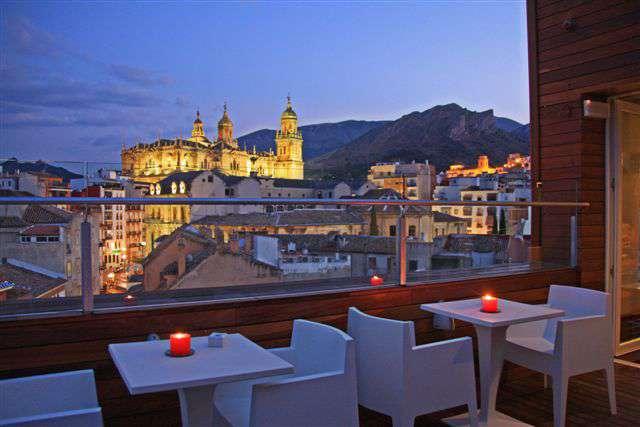 Hotel Xauen Jaén - Terraza