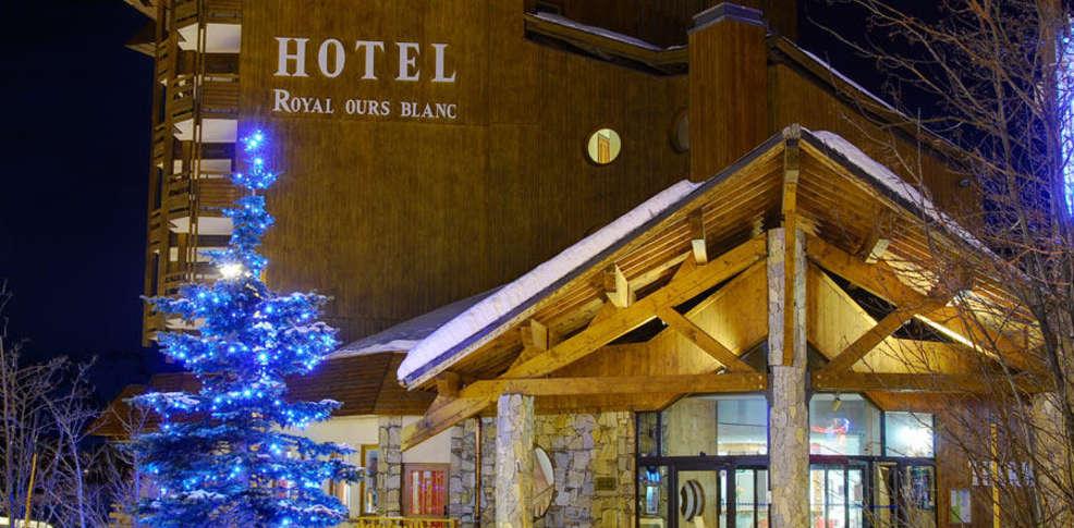 H tel et spa royal ours blanc h tel de charme alpe d 39 huez for Reservation hotel pas chere