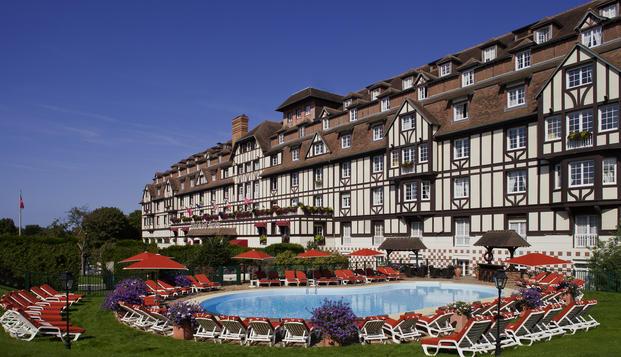 Week-end d�tente en amoureux � Deauville