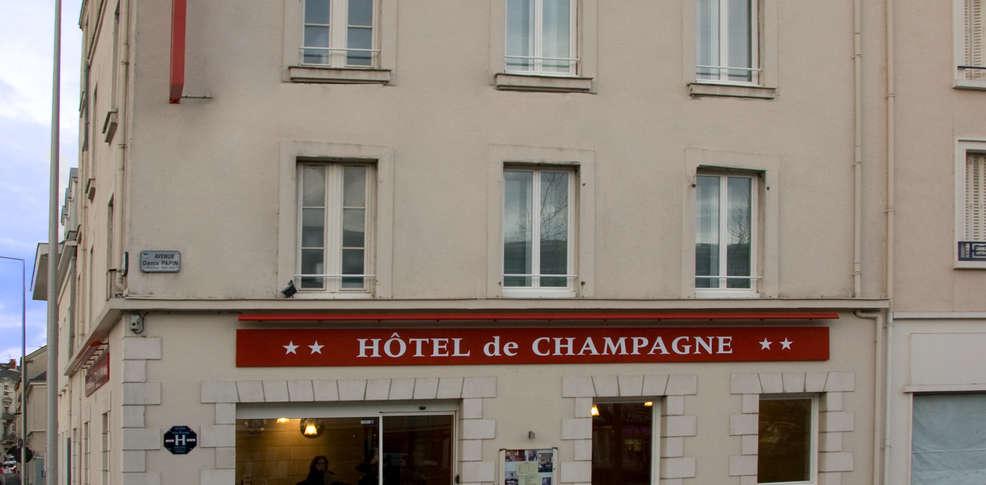Hôtel de Champagne -