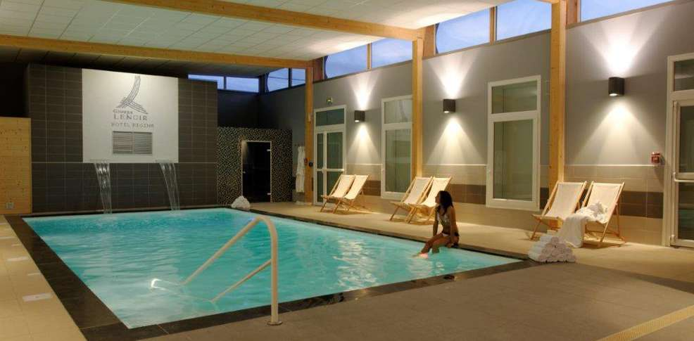 H tel le regina and spa h tel de charme berck sur mer for Hotel piscine interieur
