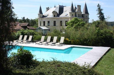 Escapada con encanto en un castillo cerca de Saint-Emilion