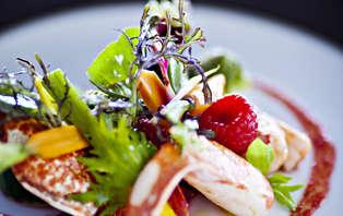 Week-end détente avec dîner gastronomique et vue panoramique près de Giverny