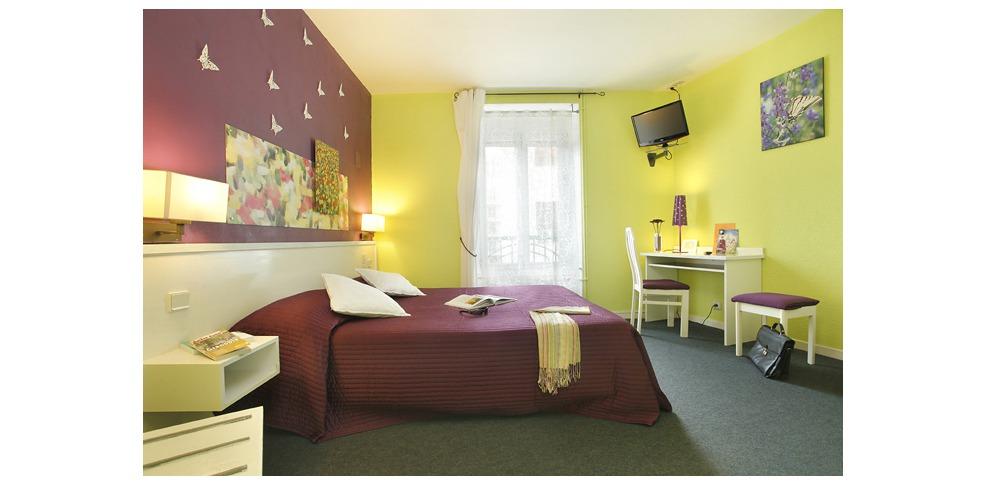 Inter hotel gambetta charmehotel grenoble - Chambre thema parijs ...