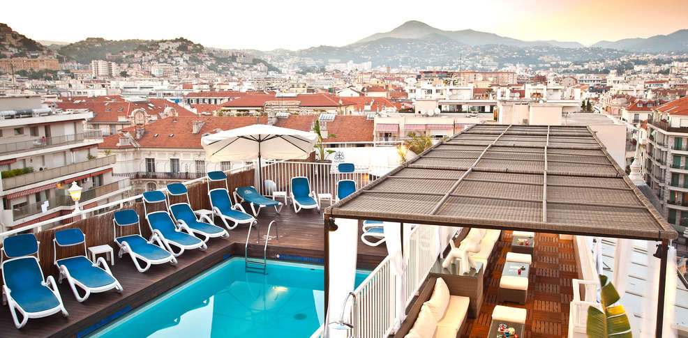H tel gounod h tel de charme nice for Reservation hotel paca