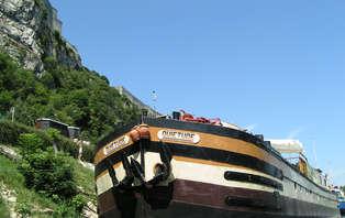 Croisière en pension complète à bord d'une péniche près de Saint Jean de Losne (2 nuits)
