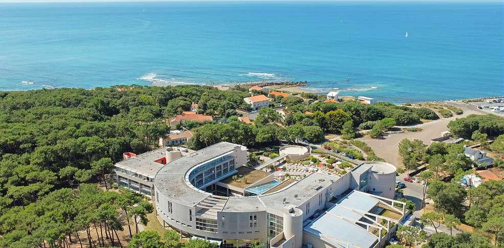 H tel club vacances bleues les jardins de l 39 atlantique for Le jardin de l atlantique
