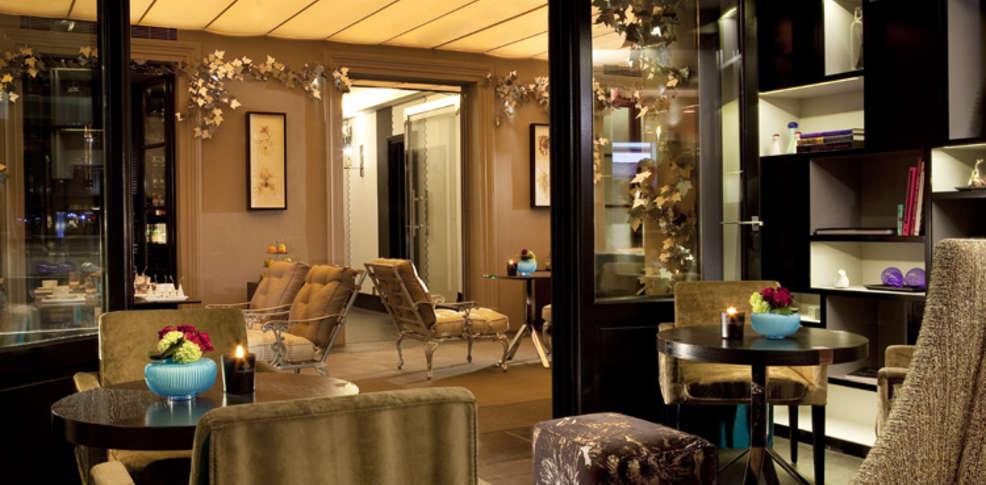 Hotel jardins de la villa et spa slh h tel de charme paris for Hotel les jardins de la villa spa