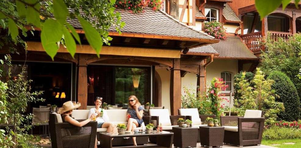 Parc Hotel Restaurant Et Spa Obernai