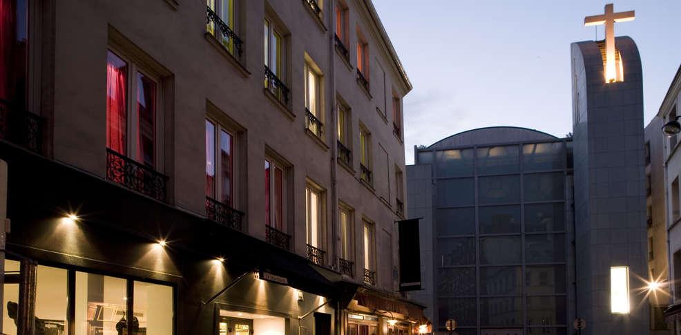 Le standard design h tel h tel de charme paris for Standard design hotel paris