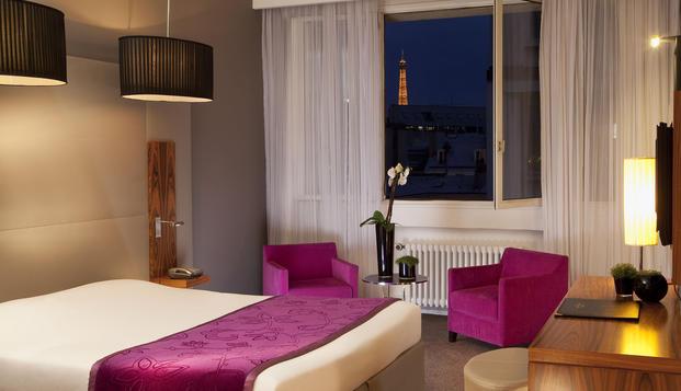 Week-end romantique en chambre Privil�ge � Paris